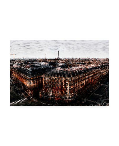 "Trademark Global Carmine Chiriaco On the Roofs of Paris Canvas Art - 19.5"" x 26"""