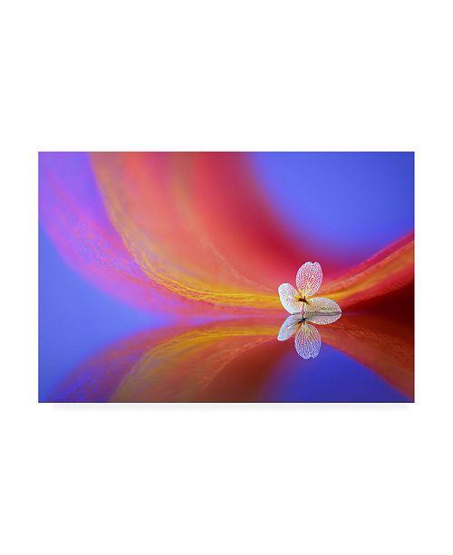 "Trademark Global Sophie Pan The Whisper Canvas Art - 15.5"" x 21"""