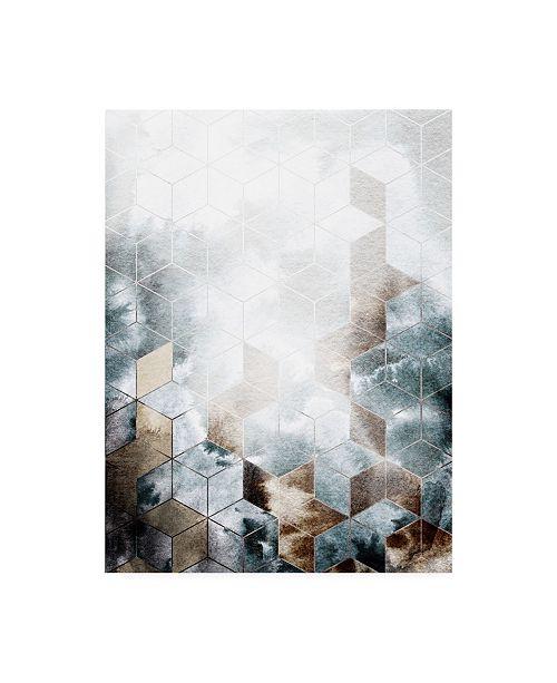 """Trademark Global Design Fabrikken Cubes Magic Fabrikken Canvas Art - 36.5"""" x 48"""""""