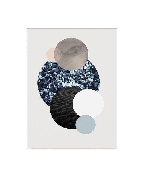 """Trademark Global Design Fabrikken Circles 2 Fabrikken Canvas Art - 27"""" x 33.5"""""""