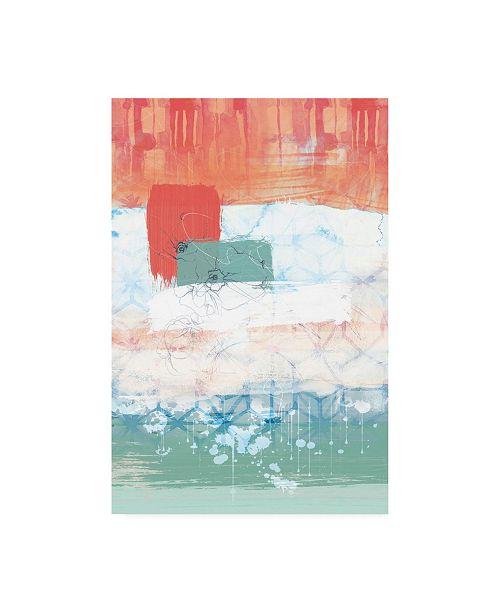 "Trademark Global Louis Duncan-He Unexpected Bloom No. 2 Canvas Art - 36.5"" x 48"""