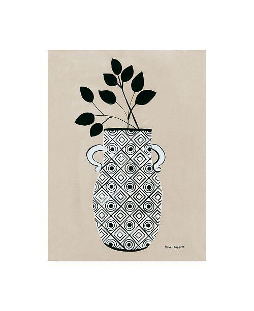"Trademark Global Megan Galante Luna Vase Canvas Art - 15.5"" x 21"""