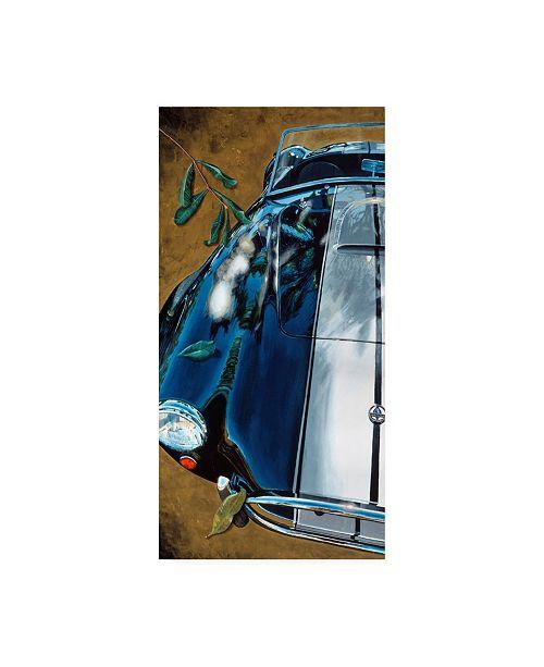 """Trademark Global Roderick Stevens Leaving Canvas Art - 15.5"""" x 21"""""""