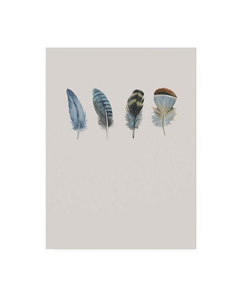 """Trademark Global Incado Feather 11 Canvas Art - 36.5"""" x 48"""""""