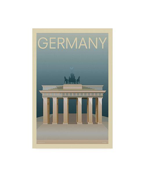 "Trademark Global Incado Germany Poster Canvas Art - 15.5"" x 21"""