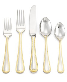 Vintage Jewel Gold 5-Piece Place Setting