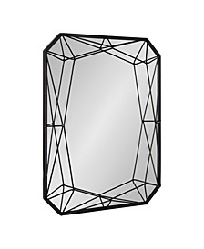 "Keyleigh Rectangle Metal Accent Wall Mirror - 22"" x 28"""