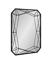 """Kate and Laurel Keyleigh Rectangle Metal Accent Wall Mirror - 22"""" x 28"""""""
