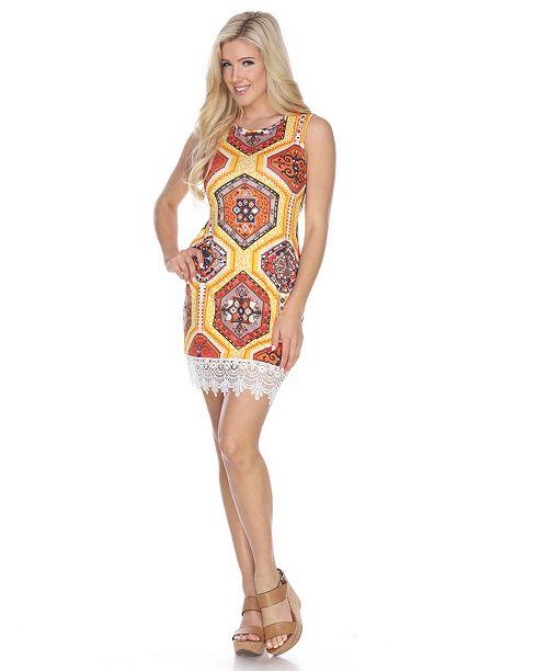 White Mark Women's Thea Dress
