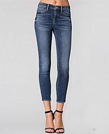 Flying Monkey Mid Rise Crop Skinny Jeans