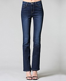 Dark Hr Mini Bootcut Jeans