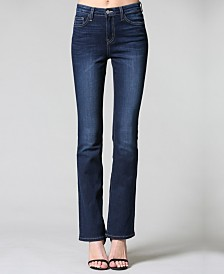 Flying Monkey Dark Hr Mini Bootcut Jeans