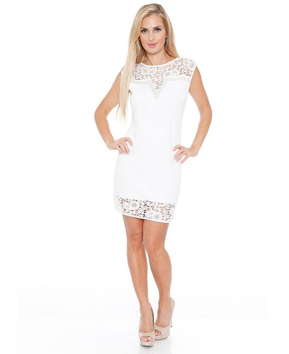 White Mark Women's Charlotte Dress