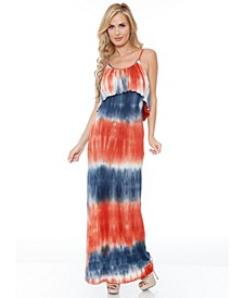 Women's Kaleatie Dye Overlay Maxi Dress