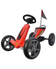Licensed Pedal Powered Ferrari Go Kart
