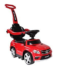 Licensed Mercedes 4 In 1 Push Car