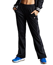 Champion Tricot Logo-Stripe Track Pants