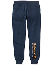 Men's Established 1973 Back Calf Graphic Logo Sweatpants