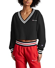 Women's Reverse Weave Cropped Sweatshirt