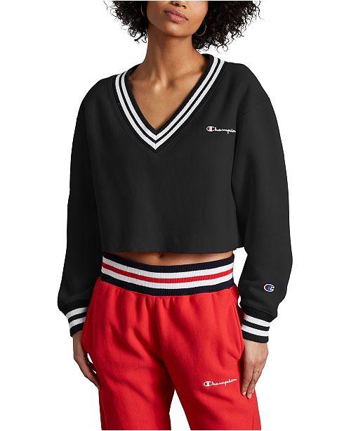 Champion Women's Reverse Weave Cropped Sweatshirt