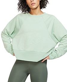 Women's Dri-FIT Fleece Cropped Training Top