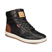 Deals on Levis Stanton High-Top Sneakers