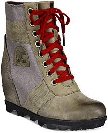 Women's Lexie Wedge Lug Sole Booties