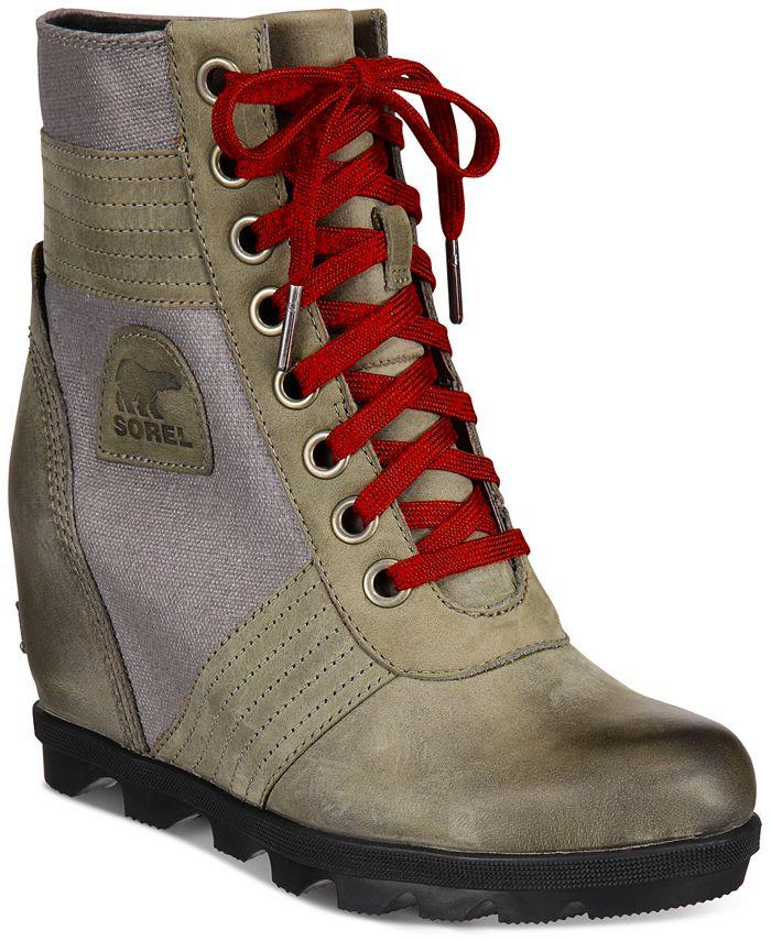 Sorel - Women's Lexie Wedge Booties