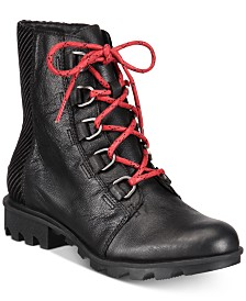 Sorel Women's Phoenix Waterproof Lace-Up Booties