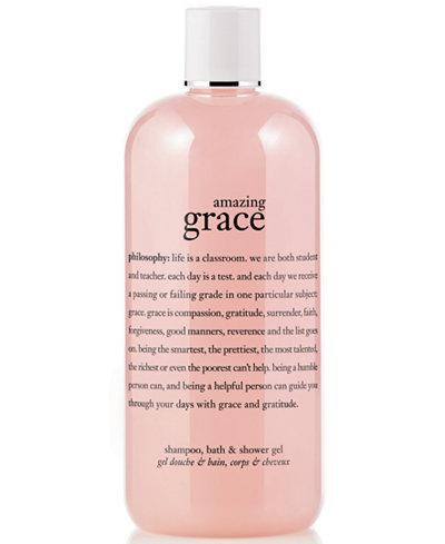 Philosophy Amazing Grace 3 In 1 Shampoo Shower Gel And Bubble Bath