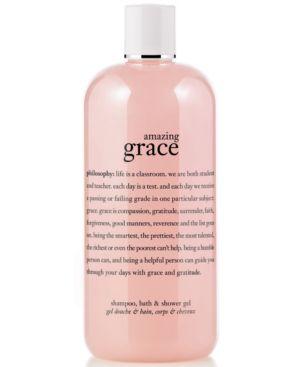 PHILOSOPHY Amazing Grace Shampoo, Bath & Shower Gel 16 Oz/ 480 Ml