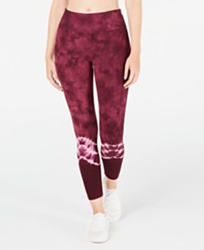 Ideology Tie-Dyed Leggings, Created for Macy's