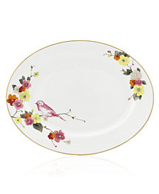 kate spade new york Waverly Pond Oval Platter