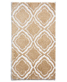 "Mosaic Geo 19"" x 34"" Bath Rug, Created for Macy's"