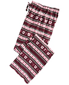 Men's Fair Isle Pajama Pants, Created for Macy's