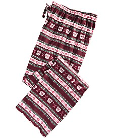 Club Room Men's Fair Isle Pajama Pants, Created for Macy's