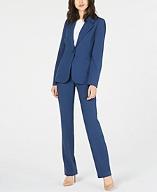 Rein Jacket & Leena Pants Stretch Suiting