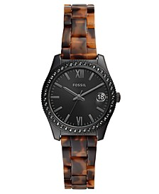 Women's Scarlette Tortoise-Look Bracelet Watch 32mm