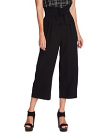 Vince Camuto Flared Paperbag Pants