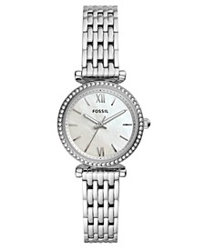 Women's Mini Carlie Stainless Steel Bracelet Watch 28mm