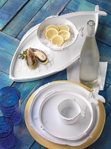 Vietri Lastra Fish Dinnerware Collection