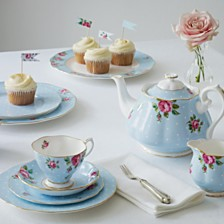 Royal Albert Polka Blue Collection