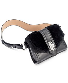 Faux-Fur Belt Bag