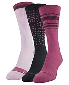 3-Pk. Phenom Crew Socks