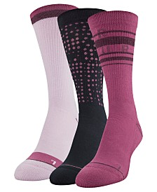 Under Armour 3-Pk. Phenom Crew Socks