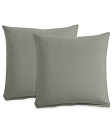 "Feather & Down 21"" Fabric Pillows (Set of 2), Created for Macy's"