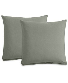 "Polyfill 21"" Fabric Pillows (Set of 2), Created for Macy's"