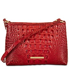 Lorelei Melbourne Embossed Leather Shoulder Bag