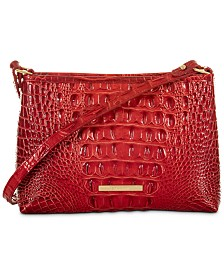 Brahmin Lorelei Melbourne Embossed Leather Shoulder Bag