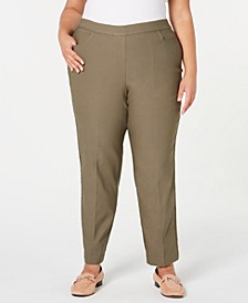 Plus Size Cedar Canyon Pull-On Stretch Pants